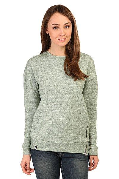 Толстовка свитшот женская Emblem Sweatshort Zip GreenСвитшот от российского бренда Emblem выполненный из натуральной хлопковой ткани.Характеристики:Прямой оригинальный резной крой с функциональной молнией сбоку.Круглый ворот.Эластичные манжеты на рукавах и подоле.<br><br>Цвет: зеленый<br>Тип: Толстовка свитшот<br>Возраст: Взрослый<br>Пол: Женский