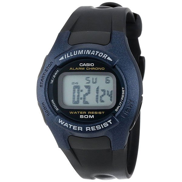 Электронные часы Casio Collection W-43h-1a Navy/Black