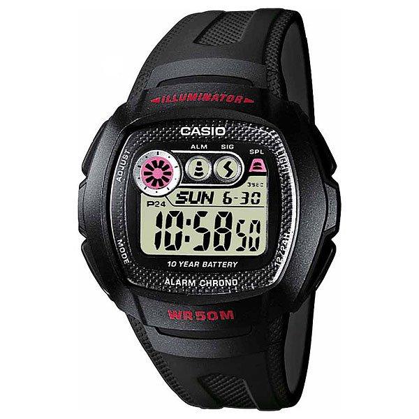 Электронные часы Casio Collection W-210-1c Black