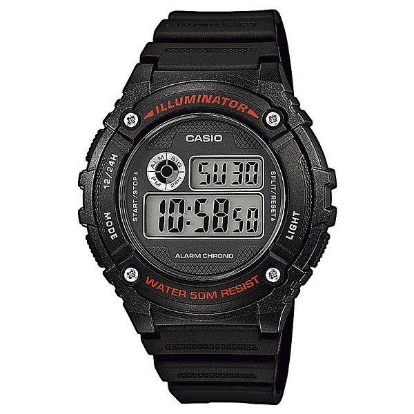 Электронные часы Casio Collection W-216h-1a Black
