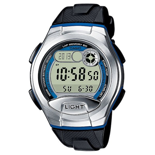 Электронные часы Casio Collection W-752-2b Black/Grey