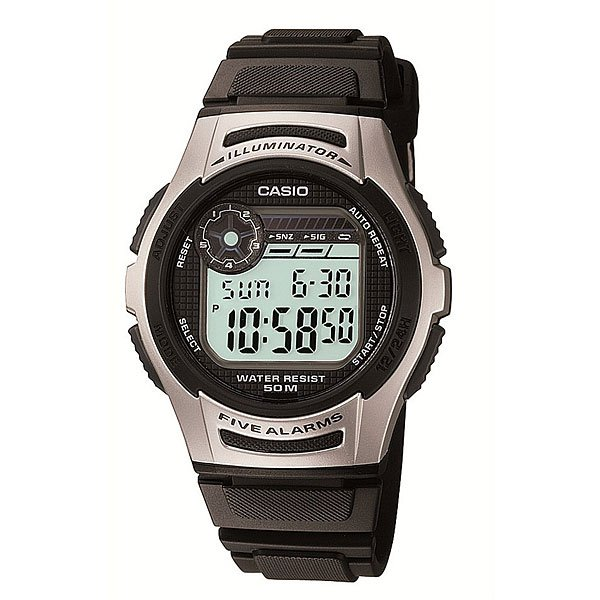 Электронные часы Casio Collection W-213-1a Black/Grey