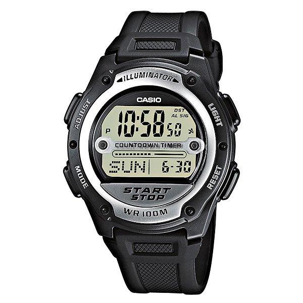 Электронные часы Casio Collection W-756-1a Black
