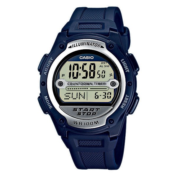 Электронные часы Casio Collection W-756-2a Navy