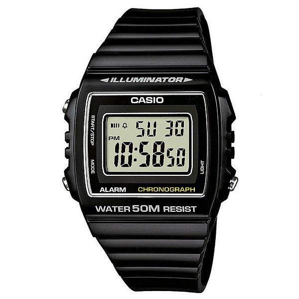 Электронные часы Casio Collection W-215h-1a Black часы casio w 215h 7a2 оригинальные