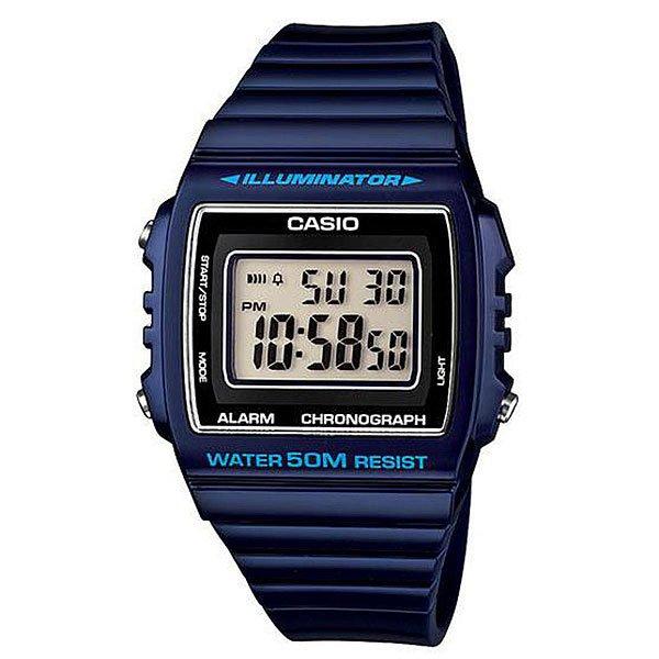 Электронные часы Casio Collection W-215h-2a Navy