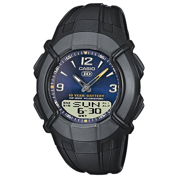 Кварцевые часы Casio Collection Hdc-600-2b Black
