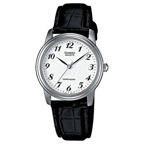 Кварцевые часы Casio Collection Mtp-1236pl-7b Silver/Black кварцевые часы casio collection mtp 1264pg 7b grey