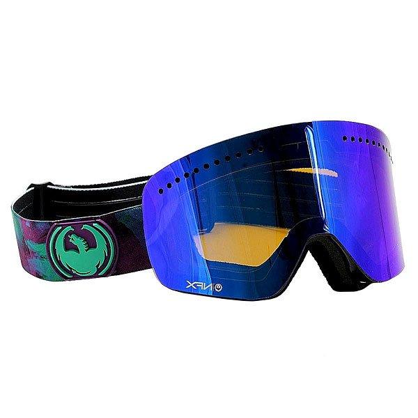 Маска для сноуборда Dragon Nfx-l Watercolr Blue Steel
