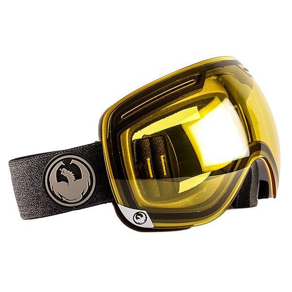 Маска для сноуборда Dragon X1 Verse Transition YellowСовершенная сноубордическая маска со сферическими линзами и запатентованной безоправной технологией, которая помогает значительно расширить возможности периферического зрения для безупречного катания.Технические характеристики: Запатентованная безоправная технология.Оптически корректные сферические линзы.Система вентиляции и защиты от снега Armored Venting.100% защита от UV.Трехслойная пена с подкладкой из микрофлиса для повышенного комфорта.Ремень с силиконом.Совместима со шлемом.Покрытие против запотевания Super Antifog.Улучшенная циркуляция воздуха.Для широкой формы лица.<br><br>Тип: Маска для сноуборда<br>Возраст: Взрослый<br>Пол: Мужской
