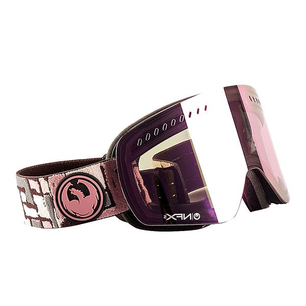 Маска для сноуборда Dragon Nfxs Plot Pink Ion YellowNfxs сочетает в себе отличный дизайн в совокупности с запатентованной безоправной технологией и цилиндрической линзой. Легкая система смены линз, чтобы адаптироваться к изменчивым погодным условиям. Nfxs имеет максимум производительности и технологий, обеспечивая максимальный периферийный обзор и удобную посадку на лице.Технические характеристики: Запатентованная безоправная технология.Двойные цилиндрические линзы.Система вентиляции и защиты от снега Armored Venting.100% защита от UV.Трехслойная пена с подкладкой из микрофлиса для повышенного комфорта.Ремень с силиконом.Совместима со шлемом.Покрытие против запотевания Super Antifog.Для средней формы лица.Pink Ionized Lens - всего подходит для меняющихся условий освещения от облачной погоды до умеренного солнца, добавляет четкости и убирает блики.<br><br>Тип: Маска для сноуборда<br>Возраст: Взрослый<br>Пол: Мужской