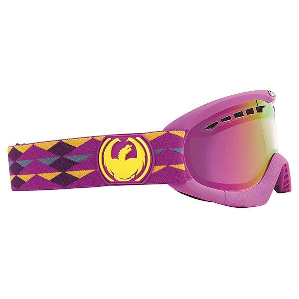 Маска для сноуборда Dragon Dxs Mountains Purple Pink Ionized
