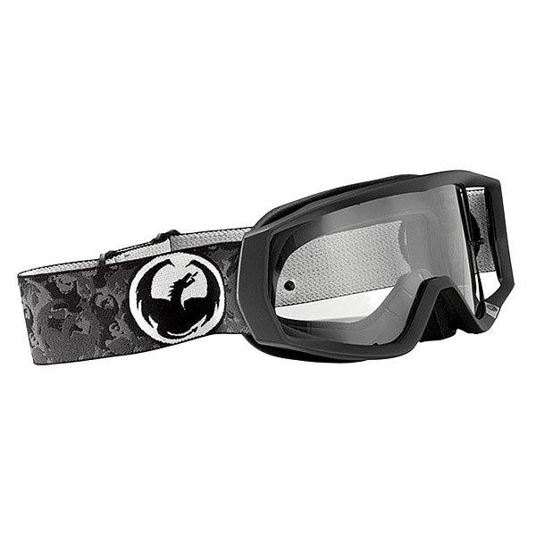 Маска для сноуборда Dragon Vendetta Black Clear Aft
