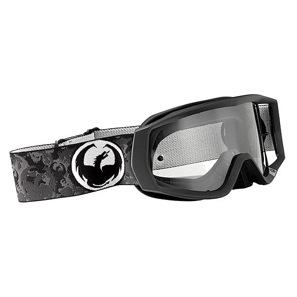 Маска для сноуборда Dragon Vendetta Black Clear Aft<br><br>Тип: Маска для сноуборда<br>Возраст: Взрослый<br>Пол: Мужской