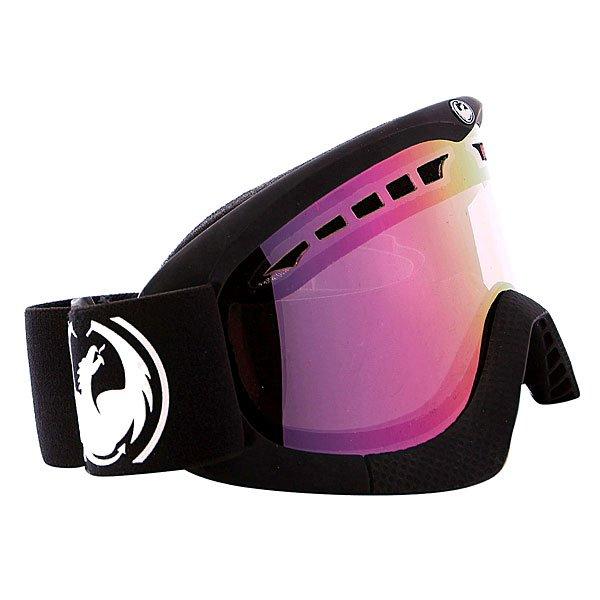 Маска для сноуборда Dragon Dxs Coal Pink Ionized
