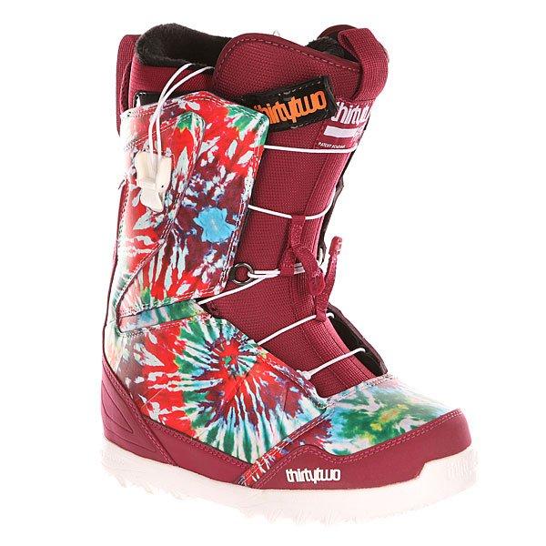 Ботинки для сноуборда женские Thirty Two Z Lashed Ft Tie Dye