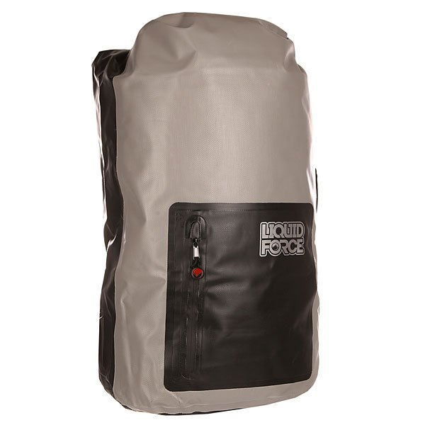 Рюкзак туристический Liquid Force Waterproof Gear Bag Large Black/Grey