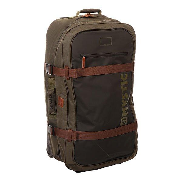 Сумка дорожная Electric Globe Trotter ArmyОтличный вместительный чемодан для длительных поездок, который позволит Вам взять с собой все необходимые вещи. Внутренние отделения с сетчатым верхом позволяют комфортно распределить вещи по разным отсекам, чтобы Вам не приходилось перерывать всю сумку и тратить много времени на их поиск. 4 мягкие ручки для переноски, сменные скейтовые колеса плавного хода и выдвижная телескопическая ручка обеспечивают максимальную простоту и удобство транспортировки.Характеристики:Два вместительных основных отделения. Большой передний карман. Маленький внешний карман быстрого доступа сверху. Внутренние отделения с сетчатым верхом на молнии. Телескопическая ручка.Мягкие ручки для удобства транспортировки. Компрессионные ремешки.Прочные скейтовые колеса. Износостойкий материал.<br><br>Цвет: зеленый<br>Тип: Сумка дорожная<br>Возраст: Взрослый<br>Пол: Мужской