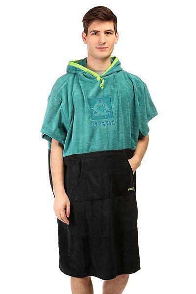 Пончо Mystic Poncho Marine BlueМахровое пончо с капюшоном и карманами - отличная альтернатива обычному полотенцу!Технические характеристики: Махровая ткань.Капюшон на завязках.Широкие короткие рукава.Свободный крой.Удобный карман кенгуру.Хорошо впитывает влагу.Двухцветный дизайн.Логотип на груди.<br><br>Цвет: голубой<br>Тип: Пончо<br>Возраст: Взрослый<br>Пол: Мужской