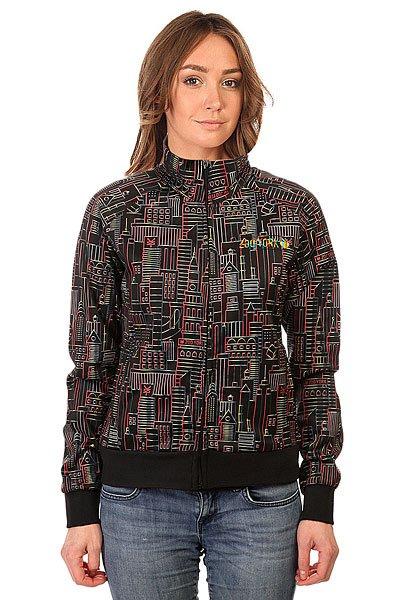 Толстовка классическая женская Zoo York Mondrian Black<br><br>Цвет: черный<br>Тип: Толстовка классическая<br>Возраст: Взрослый<br>Пол: Женский
