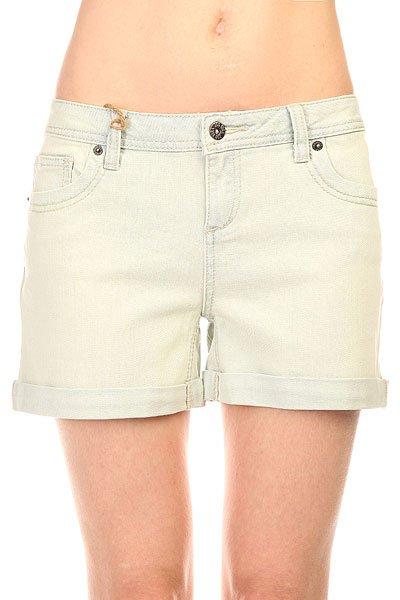 Шорты джинсовые женские Zoo York Walkabout Shorts Kara Light Wash<br><br>Цвет: голубой<br>Тип: Шорты джинсовые<br>Возраст: Взрослый<br>Пол: Женский