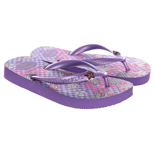 Вьетнамки детские Havaianas Fun Purple