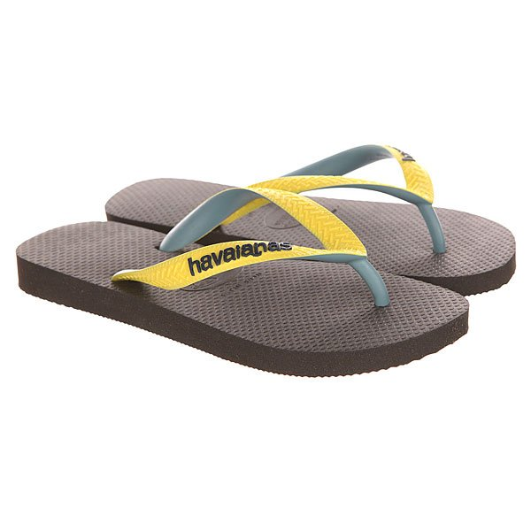 Вьетнамки Havaianas Top Mix Black/Blue/Yellow