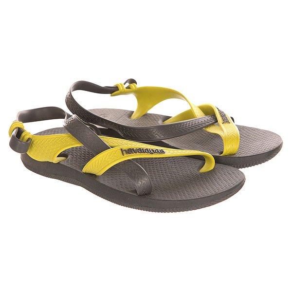 Вьетнамки детские Havaianas Explorer Grey/Yellow