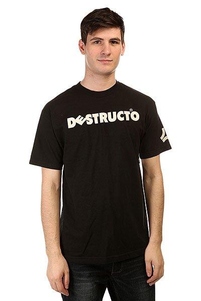 Футболка Destructo Logo Black футболка destructo construct black