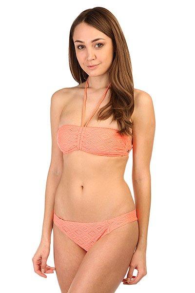 Купальник женский Roxy Bandeau/Base Gi Sunkissed Coral<br><br>Цвет: розовый<br>Тип: Купальник<br>Возраст: Взрослый<br>Пол: Женский