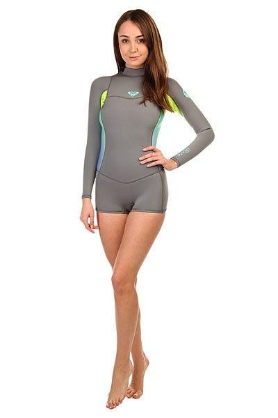 Гидрокостюм (Верх) женский Roxy Grey/LemonГидрокостюмы Roxy идеально соответствуют потребностям начинающих сёрферов. Это первая линейка гидрокостюмов начального уровня, целиком и полностью сшитая из материала Hyperstretch II, что делает их на 18% эластичнее любого другого базового костюма: полная свобода движений особенно важна для начинающих в любом виде активного досуга или спорта. Характеристики:Нагрудная панель усовершенствована за счет технологии HFT HeatingSystem ( Hollow Fiber Technology System ), которая обеспечивает дополнительную теплоизоляцию.Водонепроницаемость спинной молнии гарантирована специальной панелью Hydroshield. Длинный рукав. Высокий воротник.<br><br>Цвет: серый,желтый<br>Тип: Гидрокостюм (Верх)<br>Возраст: Взрослый<br>Пол: Женский