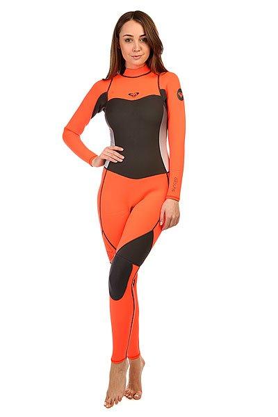 Гидрокостюм (Комбинезон) женский Roxy 3/2mm Synbas Graphite/PeachГидрокостюмы Roxy идеально соответствуют потребностям начинающих сёрферов. Это первая линейка гидрокостюмов начального уровня, целиком и полностью сшитая из материала Hyperstretch II, что делает их на 18% эластичнее любого другого базового костюма: полная свобода движений особенно важна для начинающих в любом виде активного досуга или спорта. Характеристики:Нагрудная панель моделей с обоими типами молний (нагрудной и спинной) усовершенствована за счет технологии HFT HeatingSystem ( Hollow Fiber Technology System ), которая обеспечивает дополнительную теплоизоляцию.Водонепроницаемость спинной молнии гарантирована специальной панелью Hydroshield.<br><br>Цвет: серый,розовый<br>Тип: Гидрокостюм (Комбинезон)<br>Возраст: Взрослый<br>Пол: Женский