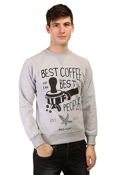 Толстовка свитшот Anteater Crewneck Coffee Grey