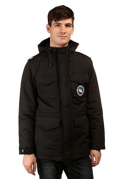 Куртка зимняя Anteater M65 BlackНовые куртки Anteater – M65: классический военный силуэт в исполнении от уличной марки.Характеристики:Удобный фит. 4 внешних кармана, два боковых, внутренний карман. Удобный капюшон.<br><br>Цвет: черный<br>Тип: Куртка зимняя<br>Возраст: Взрослый<br>Пол: Мужской