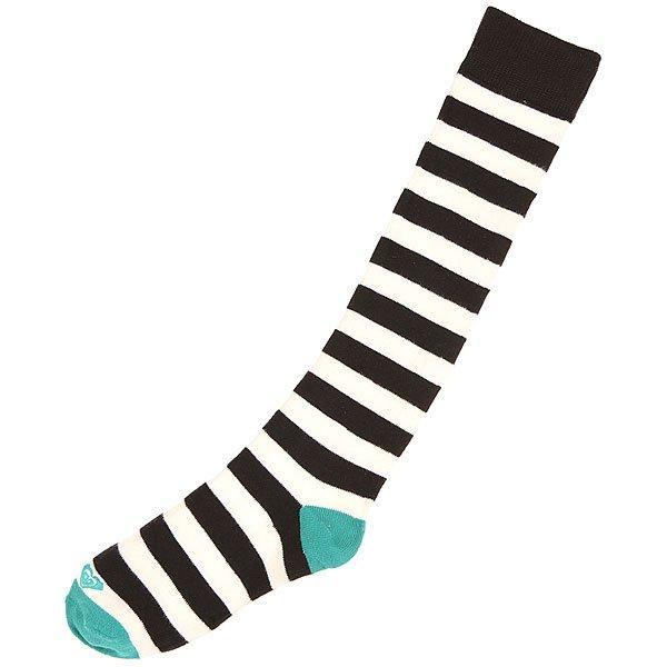 Носки высокие женские Roxy Basic Rugby White<br><br>Цвет: белый,черный<br>Тип: Носки высокие<br>Возраст: Взрослый<br>Пол: Женский