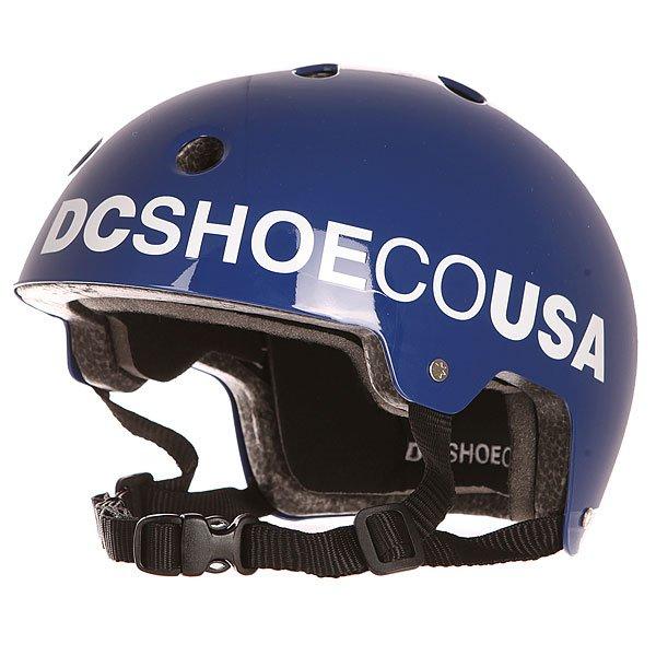 Шлем для скейтборда детский DC Askey 2 Surf The WebЛёгкий скейтовый шлем с продуманной системой вентиляции. Выполнен из ударопрочного ABS пластика. Обладает отличной эргономикой, обеспечивая Вам надежную защиту.Характеристики:Скейтовый шлем. Стандарт безопасностиCE EN 1078. Ударопрочный ABS пластик. Регулируемая пластиковая защёлка. 11 вентиляционных отверстий. Съёмная моющаяся подкладка. Стиль Skate Performance.<br><br>Цвет: синий<br>Тип: Шлем для скейтборда<br>Возраст: Детский