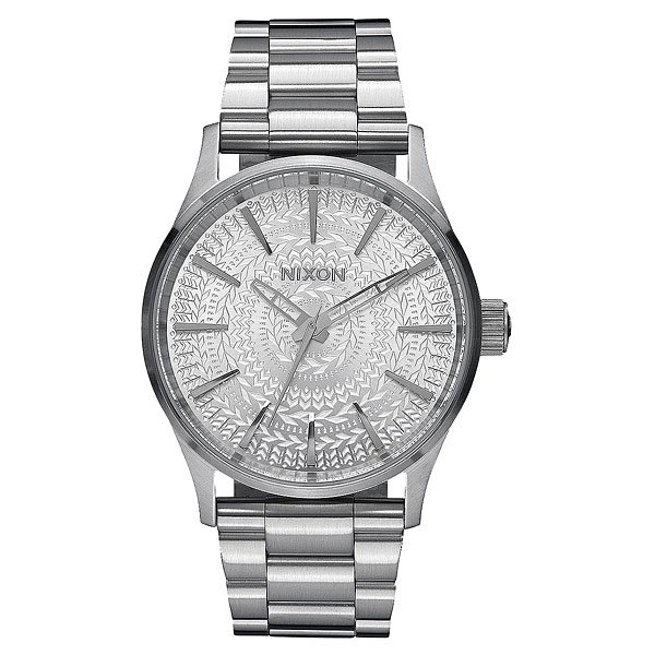 Кварцевые часы Nixon Sentry 38 Ss All Silver/Stamped