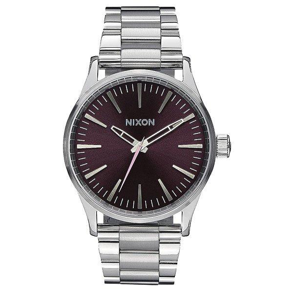 Кварцевые часы Nixon Sentry 38 Ss Plum/Grey кварцевые часы nixon sentry ss purple