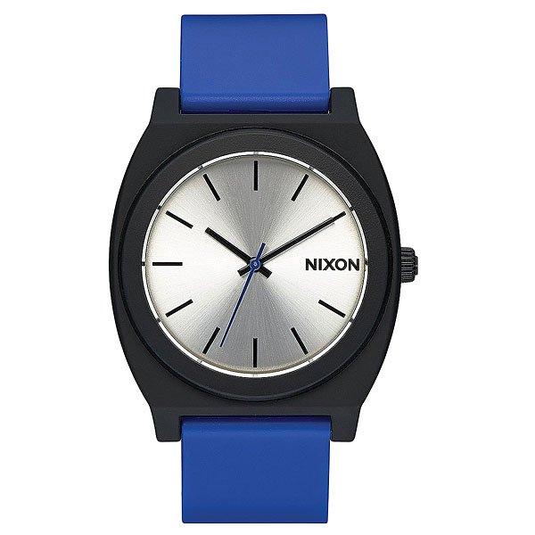 Кварцевые часы Nixon Time Teller P Black/Blue