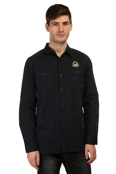 Рубашка Nixon Salinas Shirt Navy<br><br>Цвет: синий<br>Тип: Рубашка<br>Возраст: Взрослый<br>Пол: Мужской