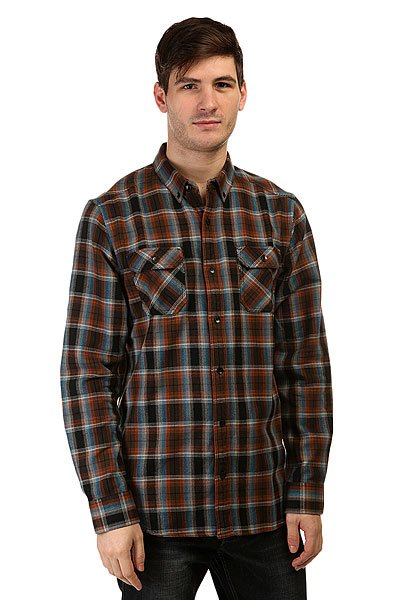 ������� � ������ Nixon Acre Shirt Walnut