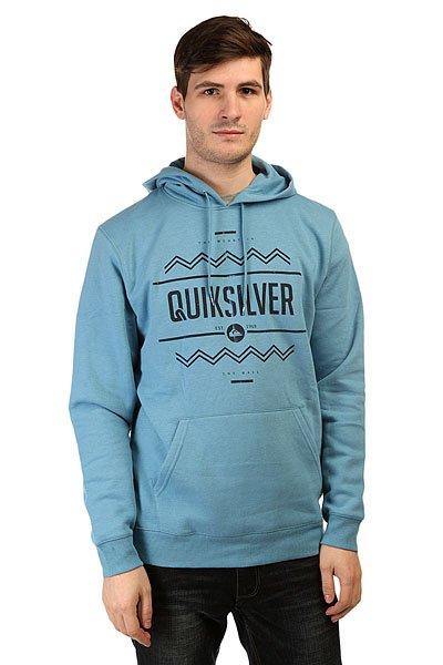 Толстовка кенгуру Quiksilver Hrymmar Vista Otlr Niagara<br><br>Цвет: голубой<br>Тип: Толстовка кенгуру<br>Возраст: Взрослый<br>Пол: Мужской