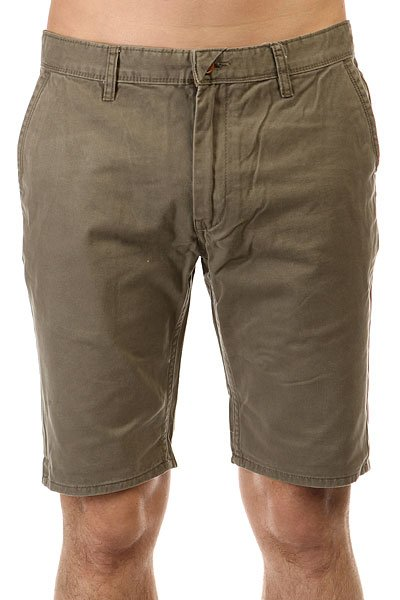 Шорты классические Quiksilver Every Day Chino Wkst Dusty Olive quiksilver шорты классические every cargo short dusty olive 1144675