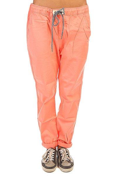 Штаны широкие женские Roxy Fonxy Twill J Pant Desert Flower цены онлайн