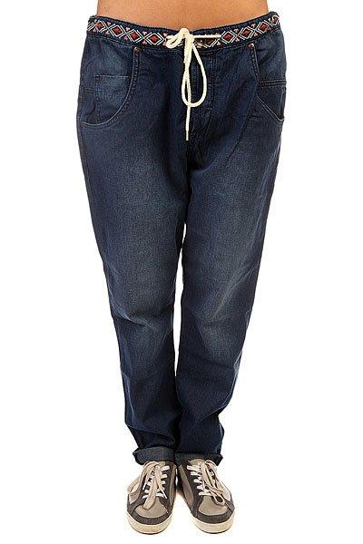 Штаны широкие женские Roxy Harmonize J Pant Dark Blue штаны широкие женские roxy harmonize j pant bleached sand
