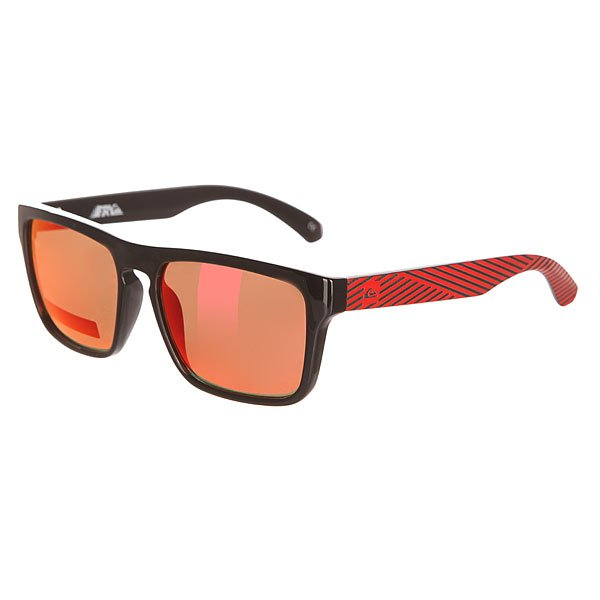 Очки детские Quiksilver Small Fry Black/Red/Ml Red