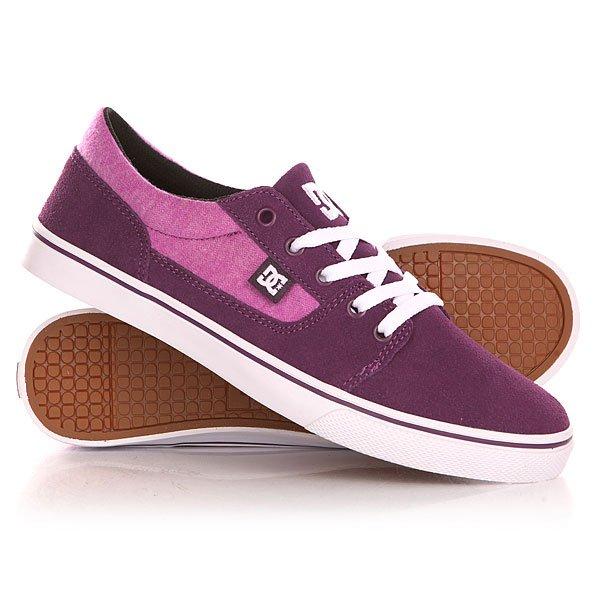 Кеды кроссовки низкие женские DC Tonik Se J Shoe Purple Wine