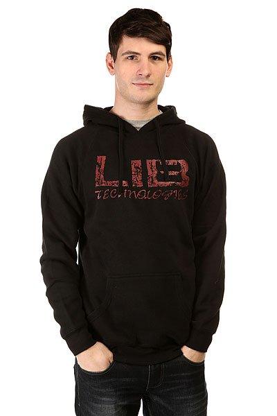 Толстовка кенгуру Lib Tech Foundation Black
