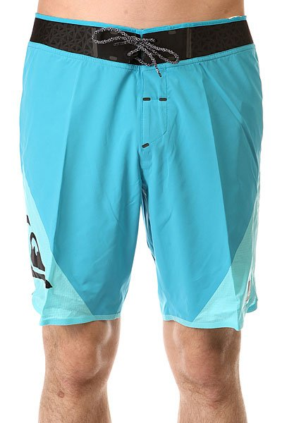 Шорты пляжные Quiksilver New Wave High Bdsh Hawaiian Ocean quiksilver шорты пляжные quiksilver incline logo bdsh incline logo hawaiia