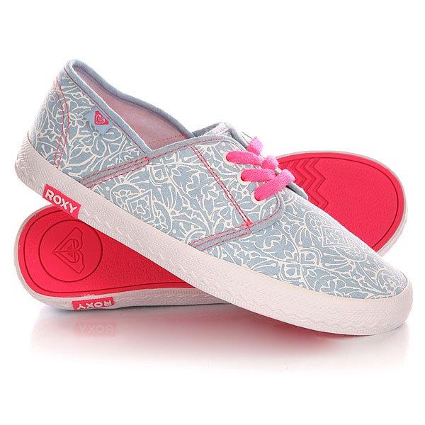 Кеды кроссовки низкие детские Roxy Rg Hermosa G Shoe Chambray